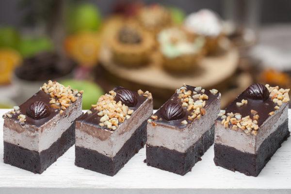пирожное Шоколадно-ореховое