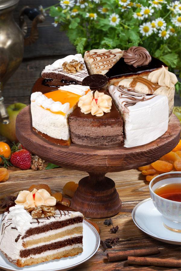 Ассорти из тортов