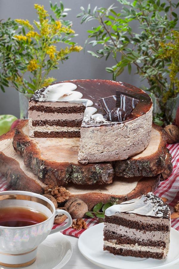 торт Черный принц 0,8
