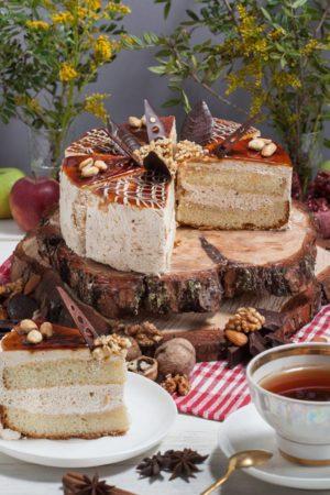 торт Карамельный