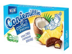 confemillio кокос ананас