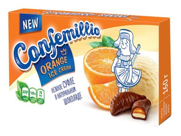 confemillio апельсин пломбир