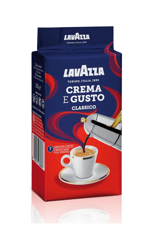 кофе crema gusto в упаковке