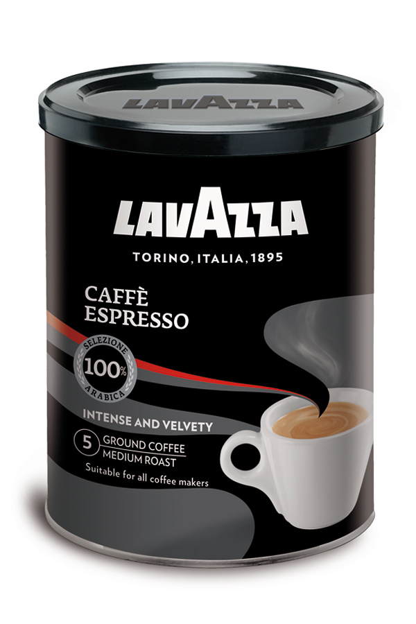 кофе espresso в банке 250