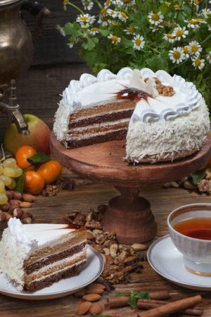торт Домашний сметанник 0,8