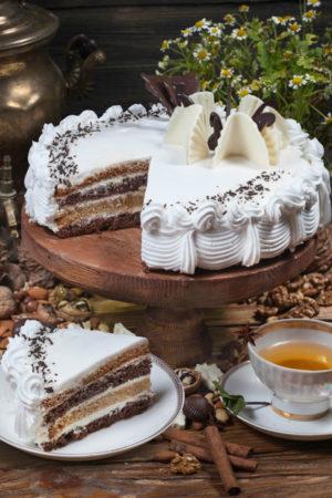 торт Домашний сметанник 1,5