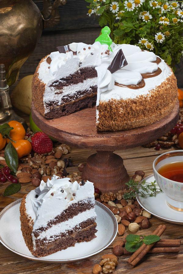 торт Каприз со сгущенкой 0,8