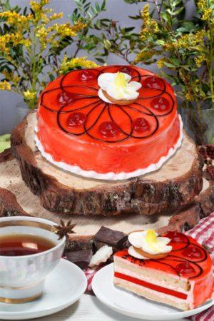 торт Клубничный со вкусом йогурта
