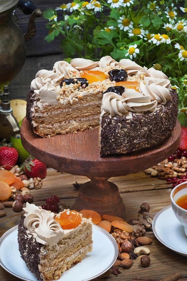 торт Наслаждение 0,9