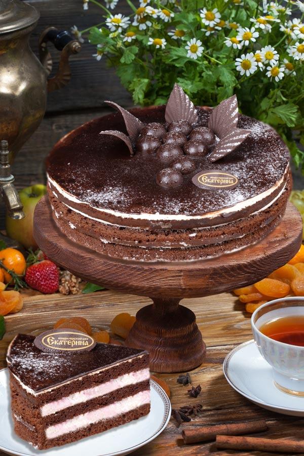 торт Сметанник шоколадный