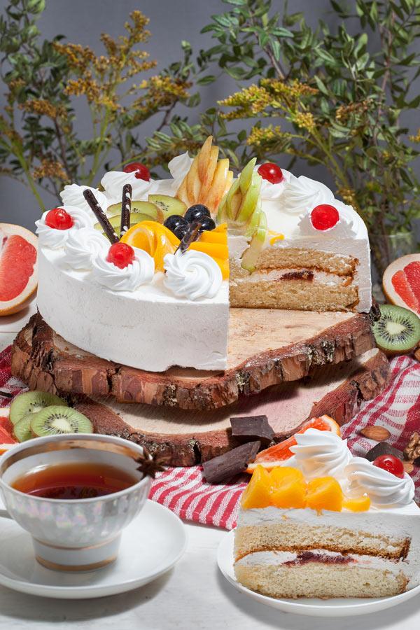 торт Йогуртово-фруктовый
